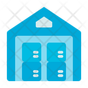 Warehouse Truck Delivery Icon