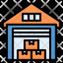 Warehouse Storehouse Building Icon