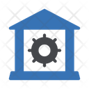 Warehouse Workshop Gears Icon