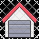 Warehouse Garage Building Icon