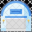 Warehouse Delivery Storage Icon