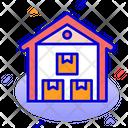 Warehouse Storage Stock Icon