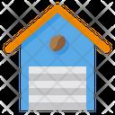 Warehouse Coffee Storage Icon