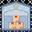 Storehouse Warehouse Storage Area Icon