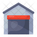 Warehouse Shed Property Icon