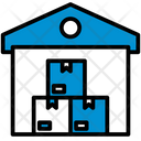 Logistics Storage Unit Icon