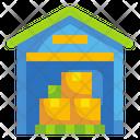 Warehouse Wholesale Storage Icon