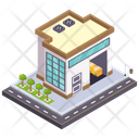 Depot Warehouse Storehouse Icon
