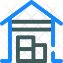 Garage Hangar Store Icon