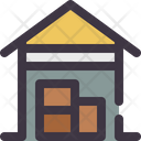 Warehouse Garage Hangar Icon
