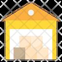 Warehouse Storage Delivery Icon