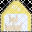 Warehouse Industry Storage Icon