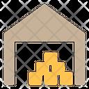 Warehouse Garage Storehouse Icon
