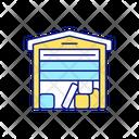 Storage Space Unit Icon