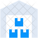 Boxes Empty Filling Icon