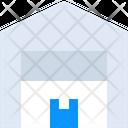 Boxes Garage Hangar Icon