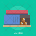 Warehouse House Container Icon