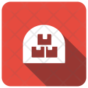 Store Boxes Factory Icon