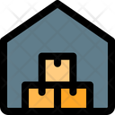 Warehouse Boxes Warehouse Storehouse Icon
