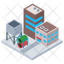 Warehouse Building Icon