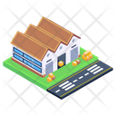 Depot Storehouse Warehouse Building Icon