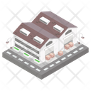 Building Architecture Storehouse Icon