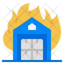 Fire Conflagration House Fire Icon