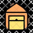 Warehouse Garage Open Icon