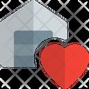 Warehouse Heart Icon