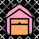 Warehouse House Open Icon