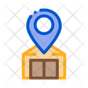 Warehouse Location Icon