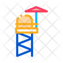 Rescue Tower Attraction Icon