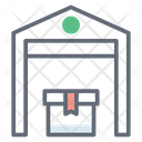 Infrastructure Warehouse Storehouse Icon