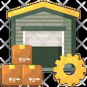 Warehouse Management Icon