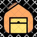 Warehouse Open Icon