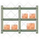 Warehouse Racks Icon
