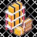 Parcel Shelves Parcel Racks Inventory Racks Icon