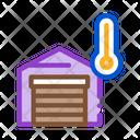 Temperature Measurements Garage Icon