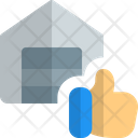 Warehouse Thumbs Up Icon