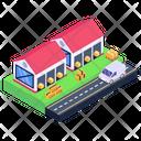 Depot Storehouse Warehouse Unit Icon
