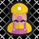 Wario Gamer Plumber Icon