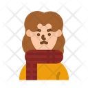 Warm Woman Winter Icon