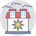 Warm house Icon