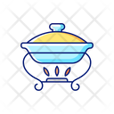 Warming Tray Food Icon
