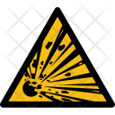 Warning Explosion Explosive Icon
