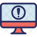 Computer Error Warning Icon