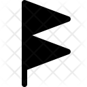 Gale Warning Flag Icon