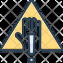Warning Alert Caveat Icon