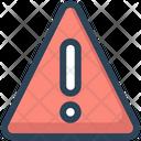 Education Warning Notice Icon