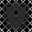 Warning Protection Shield Icon